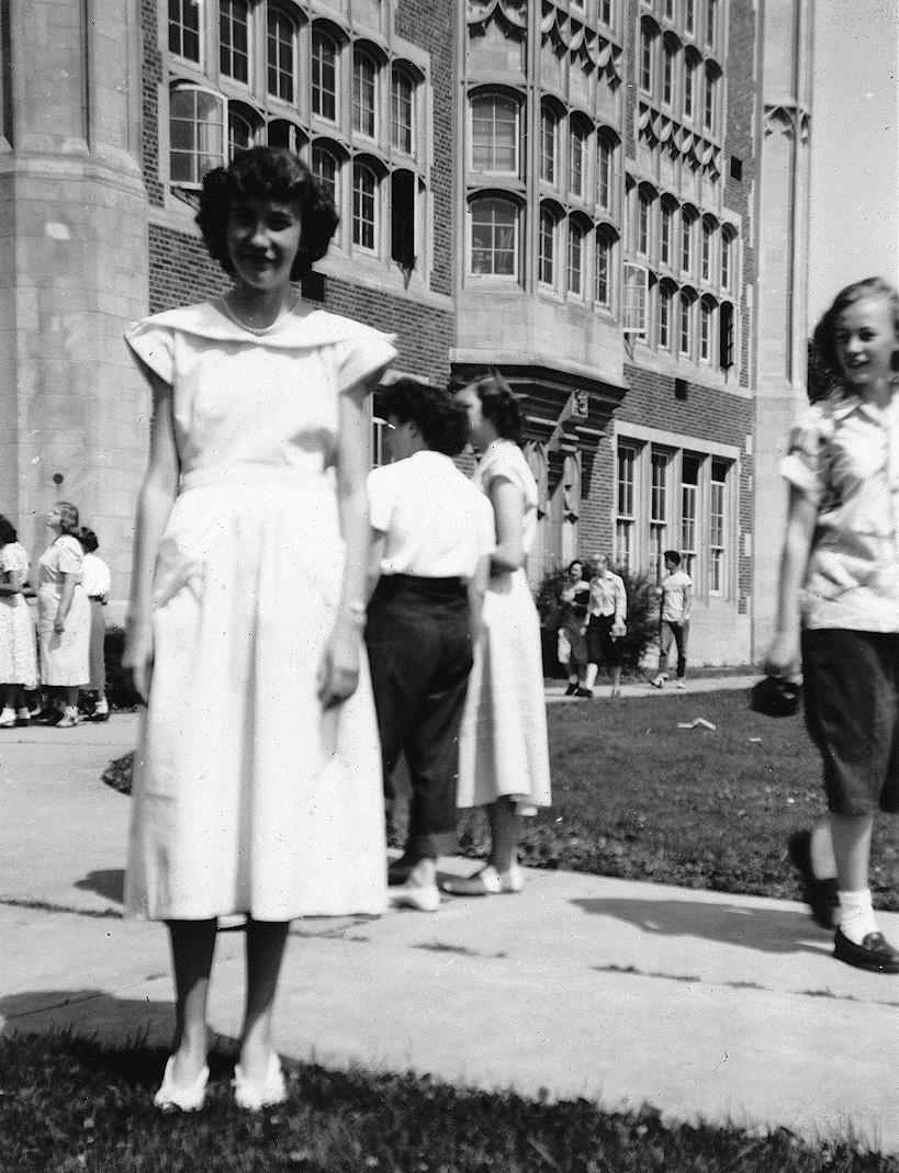 Marlene Hilelstad, East Junior High 1948-49, photo by Alice Dillman