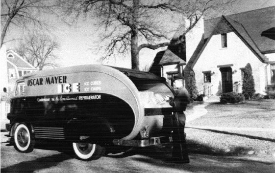 Oscar Mayer Ice delivery ca. 1940