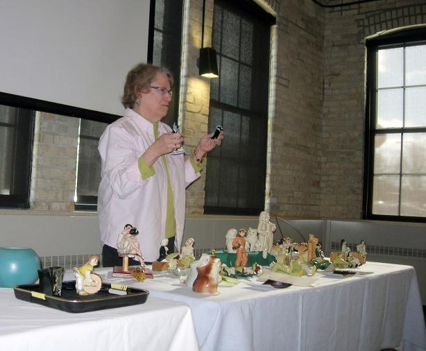 Mary Lamm Feltman shares tips for identifying true Ceramic Arts Studio figurines.