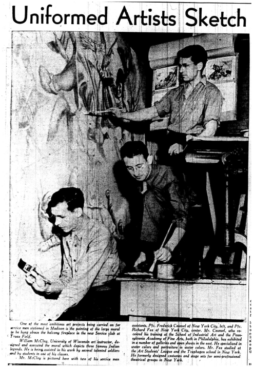 Wisconsin State Journal April 4, 1943.