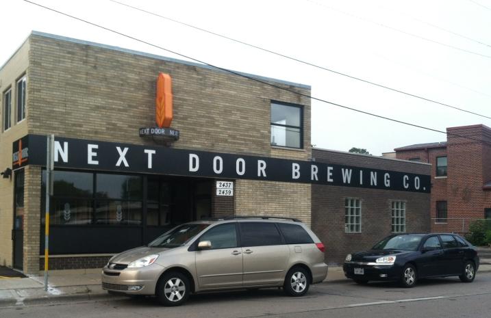 Next Door Brewing, 2439 Atwood Avenue