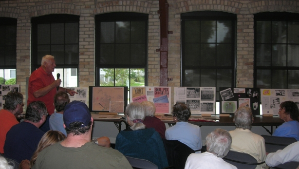 Marvin Lietzke shared memories and information about World War II-era Madison.