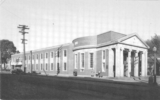 Security State Bank in the 1950s.