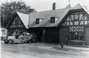 Fire Station #5, 2137 Atwood Avenue, ca. 1940. Photo courtesy of Joe Hermolin.