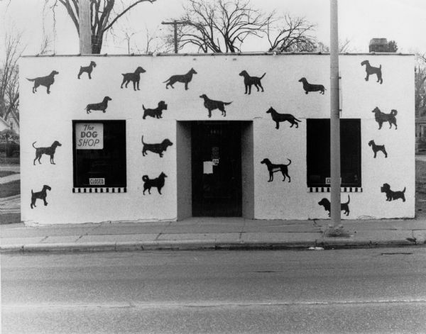 1975: Dog Shop (by James Potter, whi-37259)