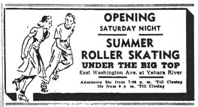 roller skating ad