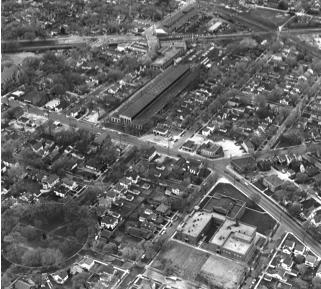Hess' Corners, circa 1945