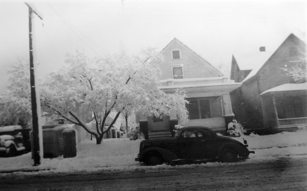 Gunderson residence and first funeral home at 1932 Winnebago Street, Madison.